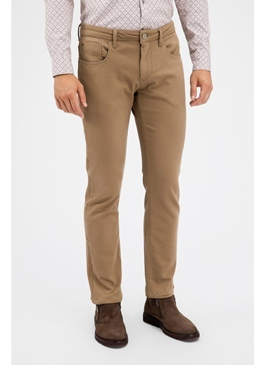 Avva Slim Fit Pantolon Camel